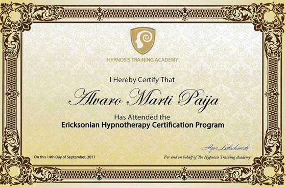 Hypnosis Training Academy - Ericksonian Hypnotherapy Certification Program