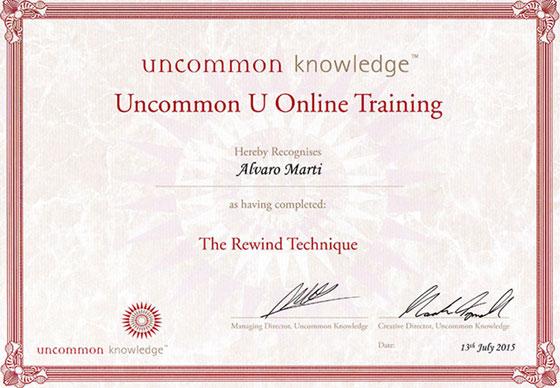 Uncommon Knowledge - The Rewind Technique